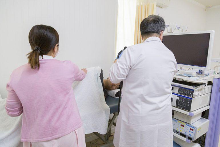 上部内視鏡検査(胃内視鏡検査)
