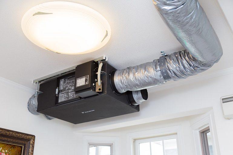 空気清浄機と24時間換気システムの導入